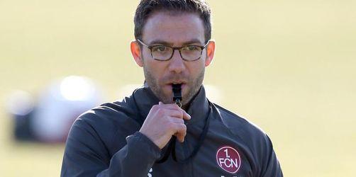 Schommers gibt Debüt als Interimstrainer beim 1. FC Nürnberg