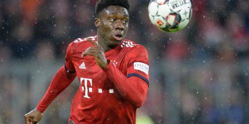 Bayern-Jungstürmer Davies erleidet leichte Bänderdehnung