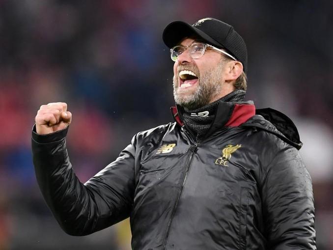 Liverpools Trainer Jürgen Klopp freut sich schon auf das Halbfinale.