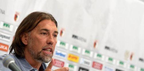 Augsburg-Coach rechnet mit Genesung von Kobel für VfB