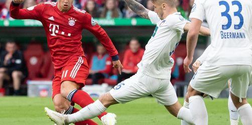 FCBayern wie erwartet ohne Hummels und James gegen Bremen