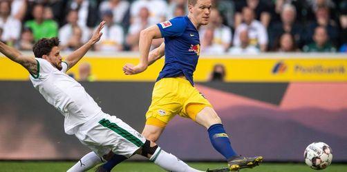 Leipzig auf Champions-League-Kurs - Sieg in Mönchengladbach