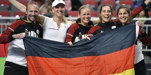 Alternde deutsche Tennis-Damen weiter erstklassig