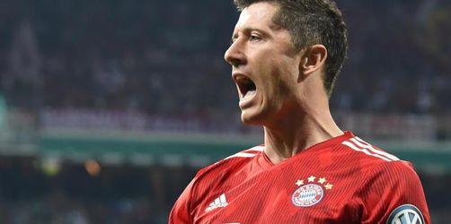 Bayern München liefert im Pokalfinale 3:2-Erfolg in Bremen