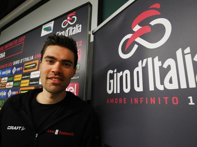 Muss den 102. Giro d'Italia früh beenden: Tom Dumoulin. /Lapresse via ZUMA Press