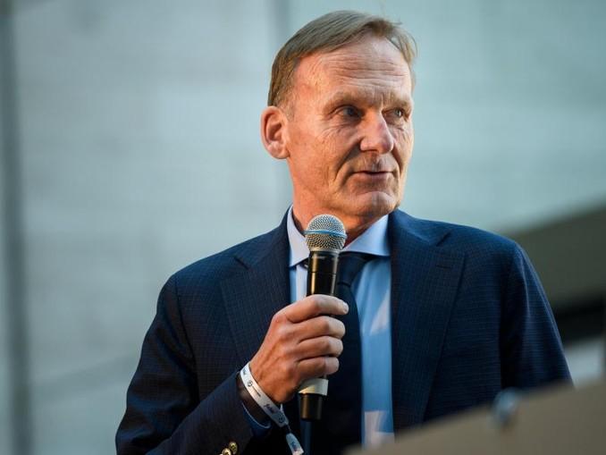 Hans-Joachim Watzke, Geschäftsführer von Borussia Dortmund.