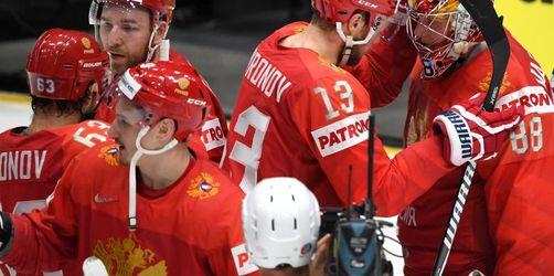 Russland, Kanada undFinnland im Halbfinale der Eishockey-WM