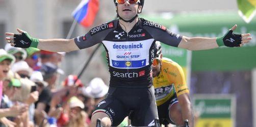 Italiener Viviani gewinnt fünfte Etappe der Tour de Suisse