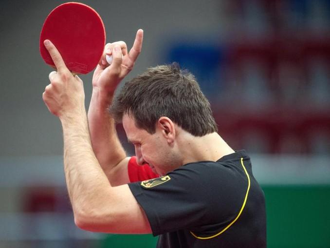 Timo Boll hat bei den Europaspielen das Finale im Einzel gewonnen. Foto (Archivf): Bernd Thissen