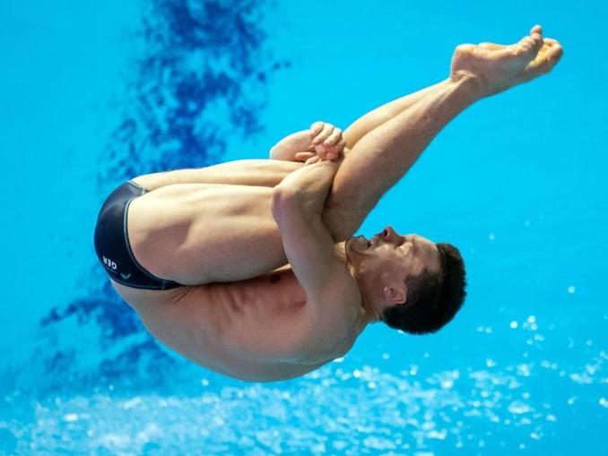 Steht in Gwangju im Finale vom Ein-Meter-Brett: Patrick Hausding.