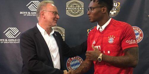 Bayern unterstützt Kinderprojekt von US-Footballstar Hopkins