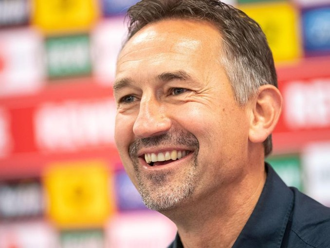 Achim Beierlorzer, Trainer des Fußball-Bundesligisten 1. FC Köln. /Archivbild