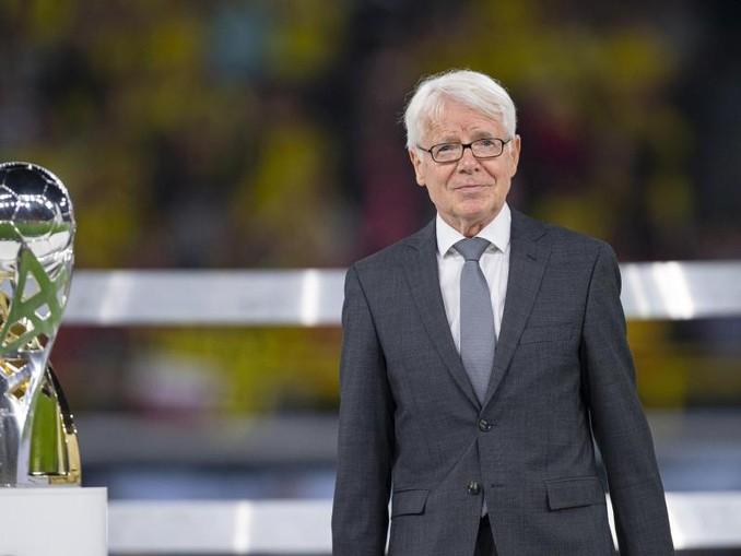 Bleibt wohl Präsident von Borussia Dortmund: Reinhard Rauball. Foto: bGuido Kirchner