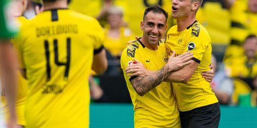 Dortmund grüßt von ganz oben - Wehmut und Freude im Breisgau