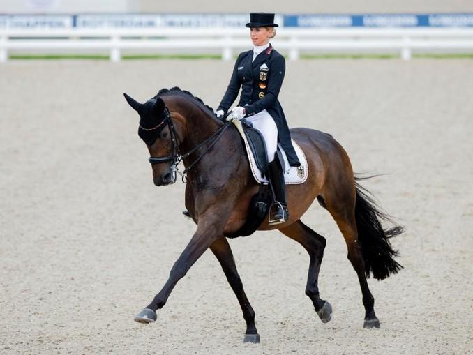Jessica von Bredow-Werndl erhielt für den Grand Prix mit Dalera in Rotterdam 76,894 Prozent.