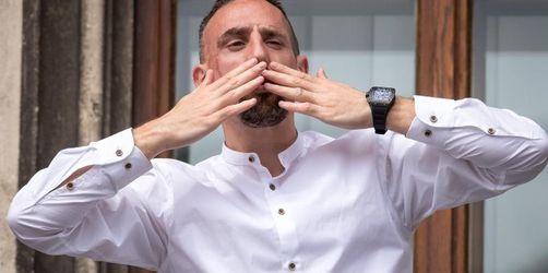 Florenz-Fans empfangen Ribéry: «Zwei Jahre auf hohem Niveau»