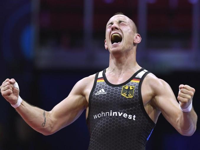 Fastete für die WM: Frank Stäbler. /MTI/AP