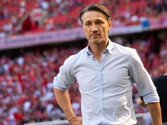 Trainer Niko Kovac von München kommt vor dem Spiel in das Stadion. /Archivbild