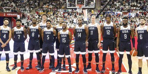 Sieg für enttäuschende US-Basketballer zum Abschluss