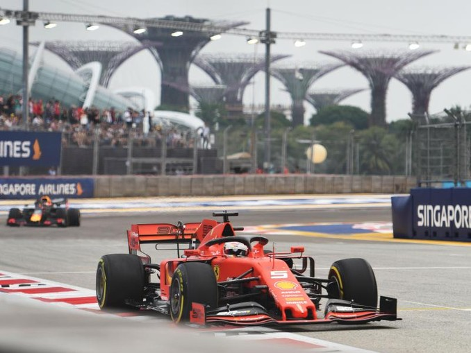 «Das Auto macht noch nicht, was ich will. Es ist zu nervös und rutscht zuviel», sagt Vettel über seinen Ferrari. /XinHua