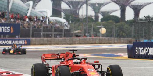 Singapur-Quali: Vettel muss nächsten Dämpfer fürchten