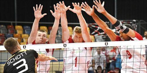 Deutsche Volleyballer verpassen EM-Halbfinale