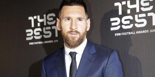 Messi zum sechsten Mal Weltfußballer
