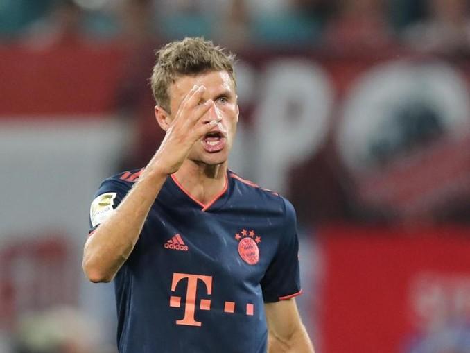 Beim FC Bayern nur noch Teilzeitkraft: Thomas Müller. /dpa-Zentralbild/dpa
