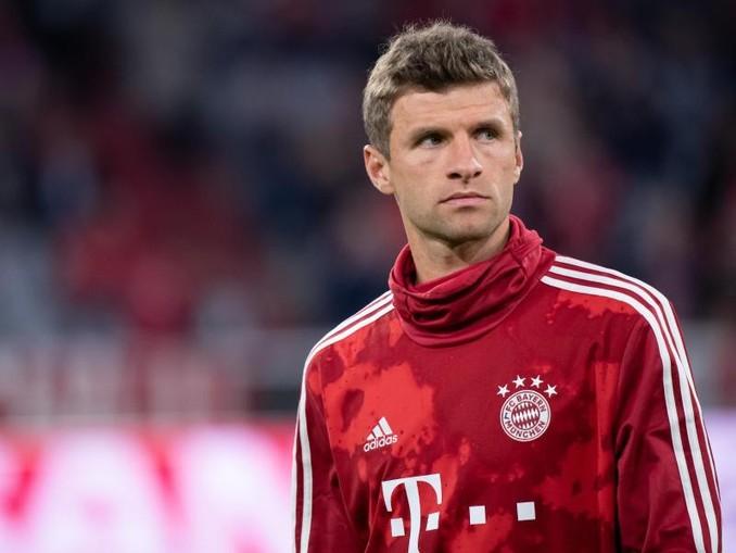 Ist beim FC Bayern mit seiner Reservistenrolle unzufrieden: Thomas Müller. /dpa