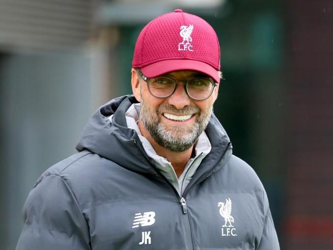 Fühlt sich beim FC Liverpool sichtlich wohl:Jürgen Klopp. /PA Wire/dpa