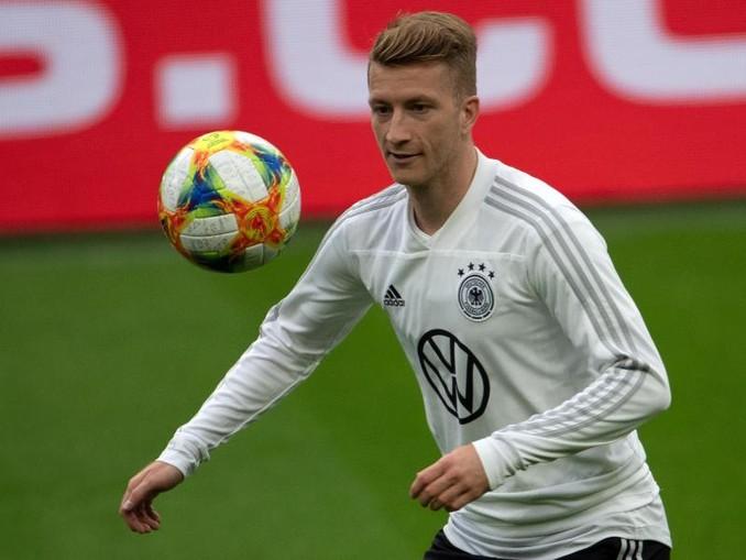 Soll gegen Estland wieder im DFB-Trikot auflaufen: Marco Reus. /dpa