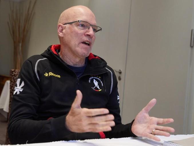 Hat als Hockey-Bundestrainer Maßstäbe gesetzt: Markus Weise gibt ein Interview. /dpa