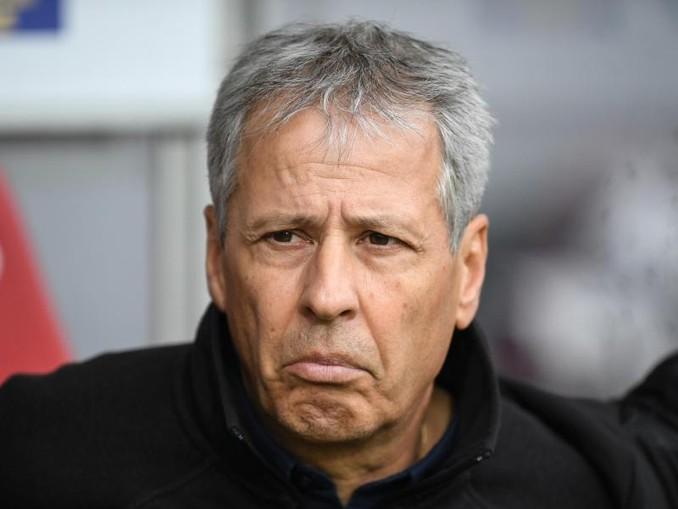 Lucien Favre will unbedingt gewinnen gegen Mönchengladbach. /dpa