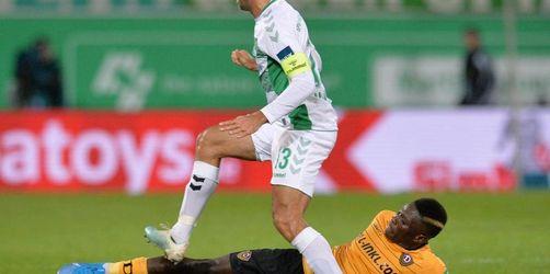 Dritte Niederlage in Serie: Dresden unterliegt auch in Fürth