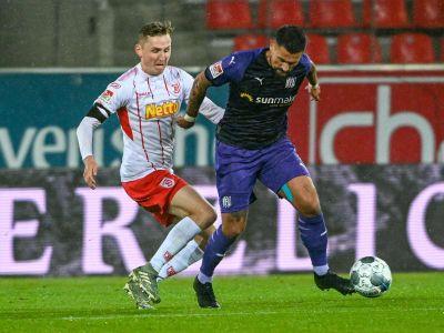 Regensburg verpasst Sprung auf Platz vier gegen Osnabrück