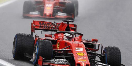 Vettel kontert Schummelvorwürfe mit Tagesbestzeit