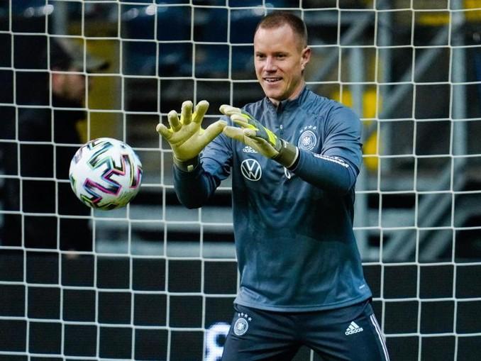 Hüttet gegen Nordirland das DFB-Gehäuse: Marc-André ter Stegen. /dpa
