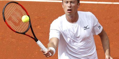 Davis Cup: Kohlschreiber bringt Deutschland in Führung