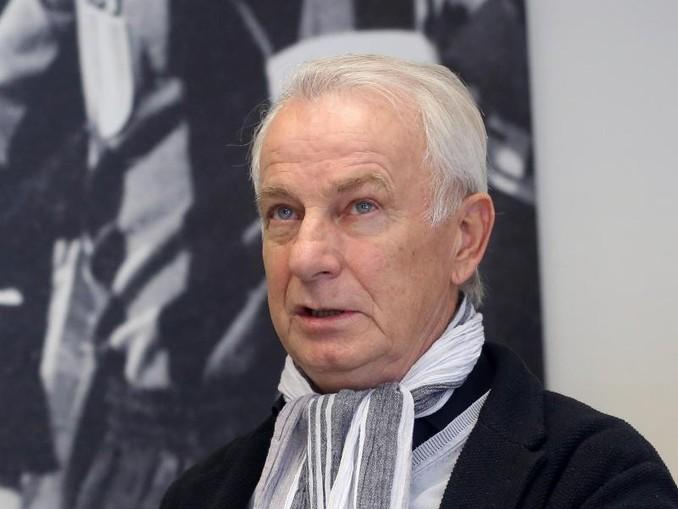 Spricht über die Rivalität mit dem FCKöln: Der ehemalige Gladbacher Spieler Rainer Bonhof erinnert sich. /dpa