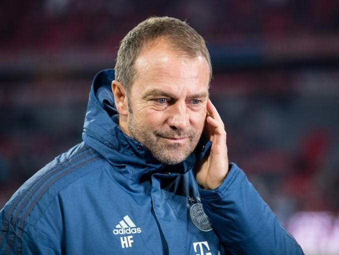 Bayern-Trainer Hansi Flick. /dpa/Archivbild