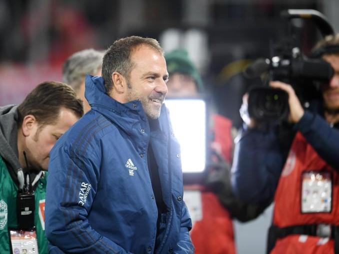 Hansi Flick geht mit seiner Situation als Trainer des FC Bayern München weiter entspannt um. /dpa