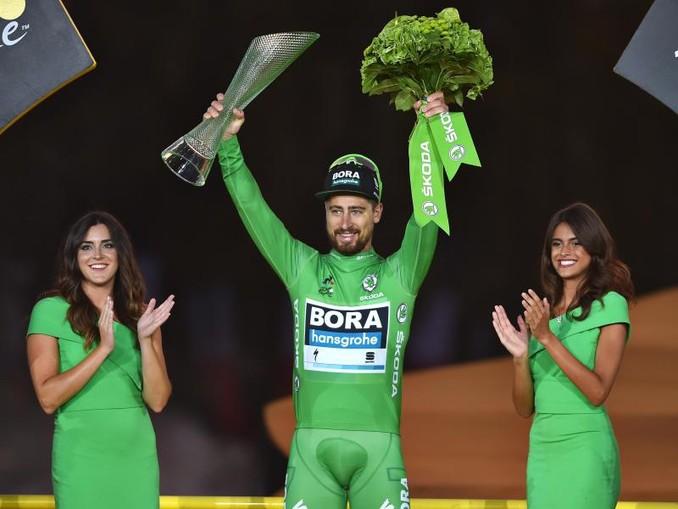 Peter Sagan vom Team Bora-hansgrohe. /BELGA/dpa/Archivbild