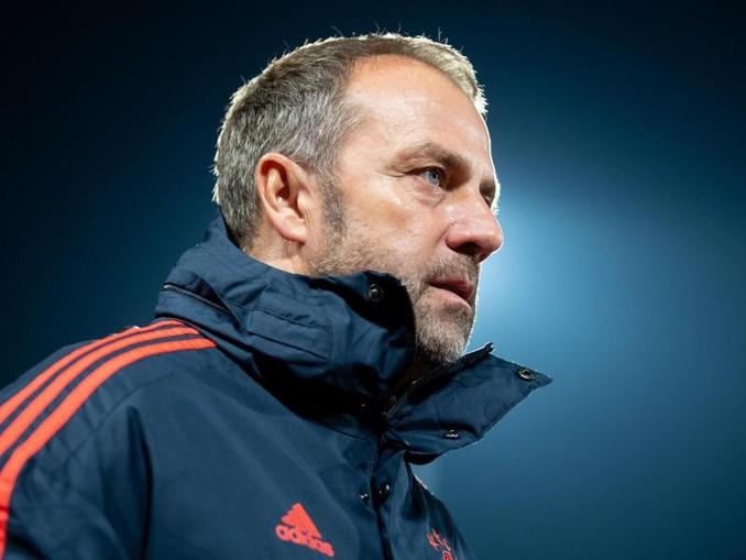 Bayern-Coach Hansi Flick. /dpa/Archivbild