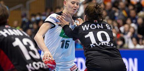 Deutsche Handballerinnen verpassen Gruppensieg