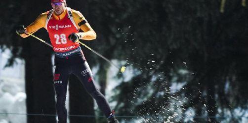 Biathleten inSchweden mit Staffel-Fiasko