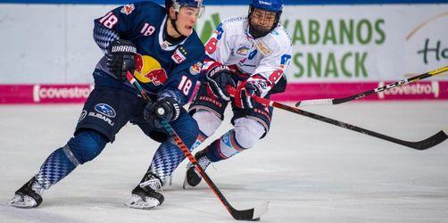 Eishockey-Meister Adler Mannheim gewinnt DEL-Topspiel