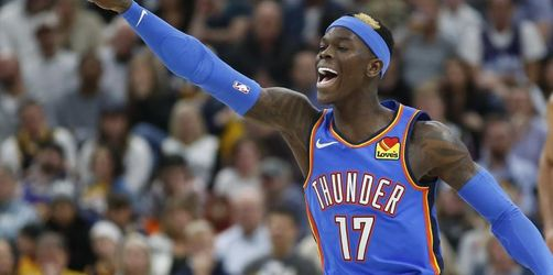 Schröder feiert mit Oklahoma dritten NBA-Sieg in Serie