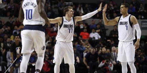 Basketball-Jungstar Luka Doncic führt Dallas zum Sieg