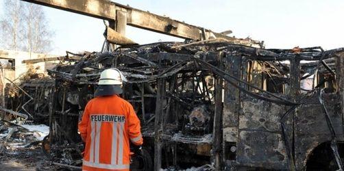 Brand im Feuerwehrhaus - Millionenschaden in Syke