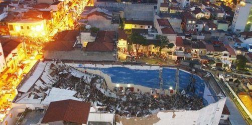 Dach erschlägt Kirchenbesucher in São Paulo